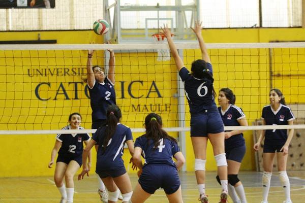 Voleibol Damas en la UCM