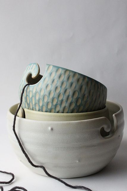 yarn bowls | Flickr - Photo Sharing!