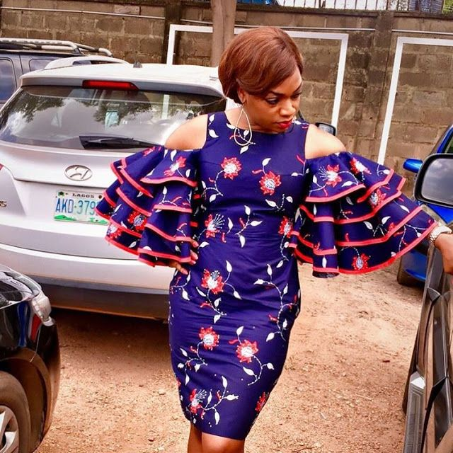 Wonderful Ankara Gown Styles You Should Try Before The New Year - DeZango Fashion Zone