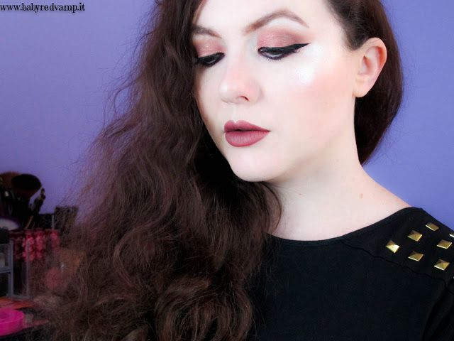 Babyredvamp Makeup: Face Of The Day - Peach Black (with Too Faced, Swe...