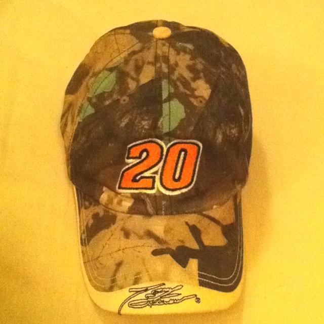 My favorite cap. I know nothing about NASCAR... Anyone know whose signature that is?