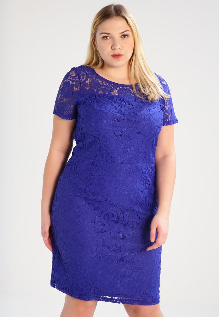 Dorothy Perkins Curve Sukienka koktajlowa - light blue - Zalando.pl