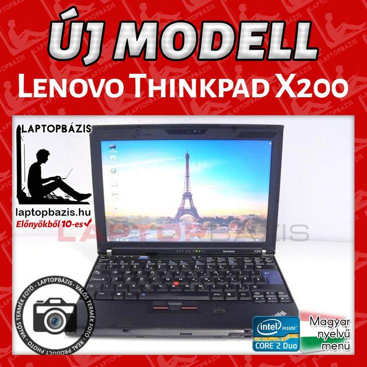 Lenovo Thinkpad X200 http://laptopbazis.hu/termek/lenovo-thinkpad-x200-laptop-121-lcd-kijelzo-intel-core-2-duo-p8600-4-gb-ram-webkamera-wifi/593