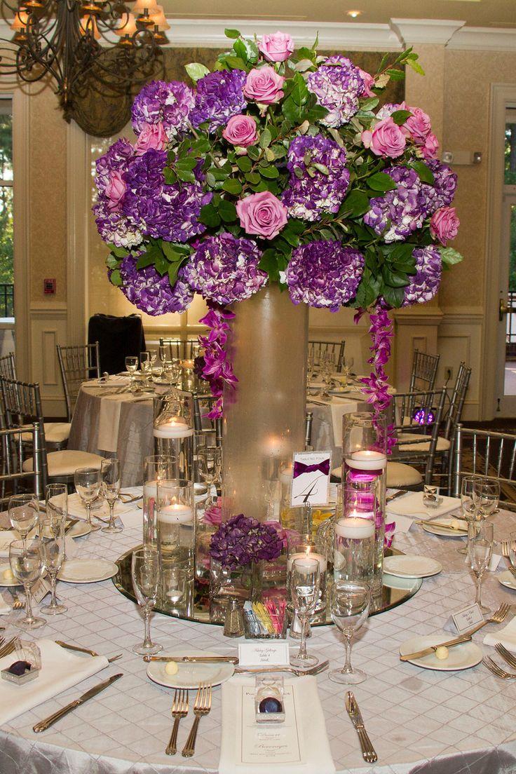 Romantic Plum and Silver Country Club Wedding in North Carolina - Munaluchi Bridal Magazine