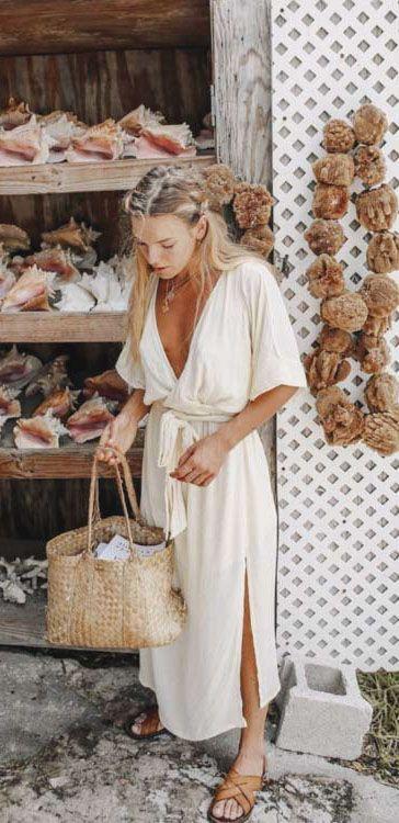 30+ Brillante Sommeroutfits zum Anziehen   – ▷Spring/Summer Fashion◁ – #Anzi…