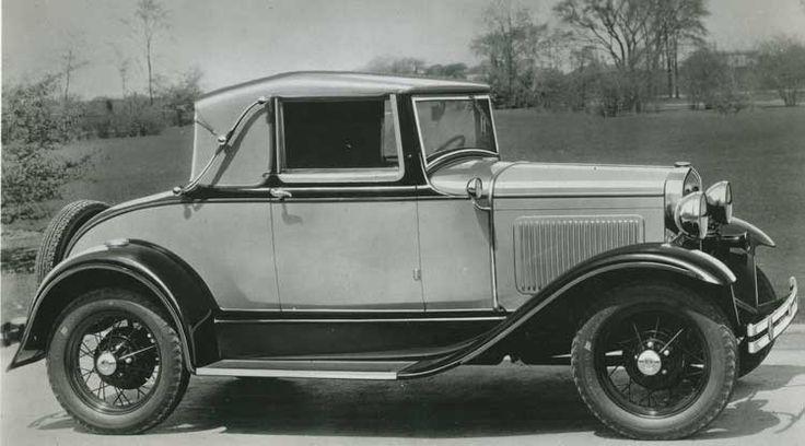 1929 Autos der Zeit