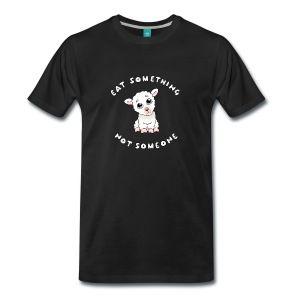 Eat something - Premium-T-shirt herr