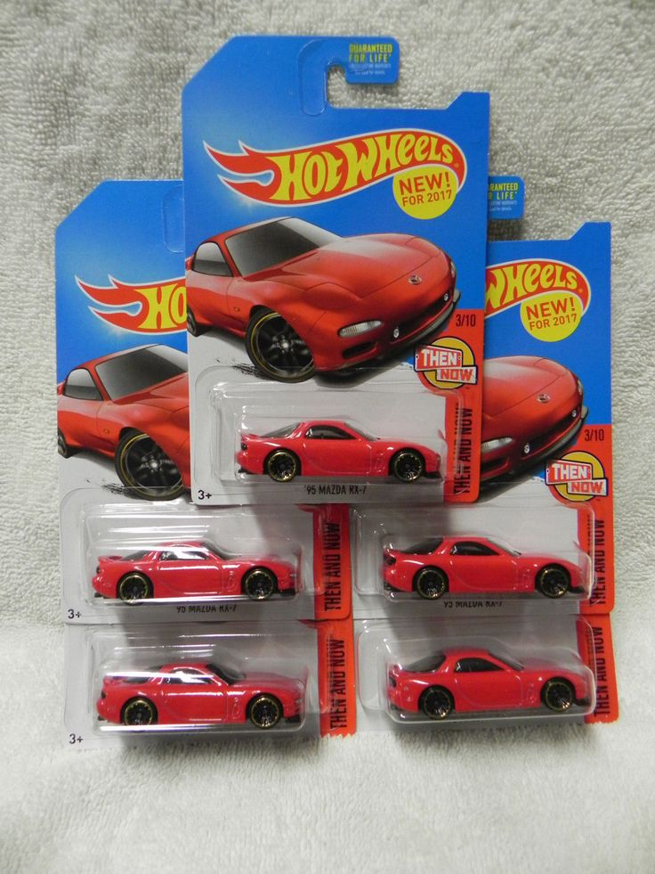Awesome Awesome 2017 Hot Wheels 95' Mazda RX-7 Red K-Day Color X5   1 SWEET CAR!!!!!!!! 2018 Check more at http://24go.cf/2017/awesome-2017-hot-wheels-95-mazda-rx-7-red-k-day-color-x5-1-sweet-car-2018/