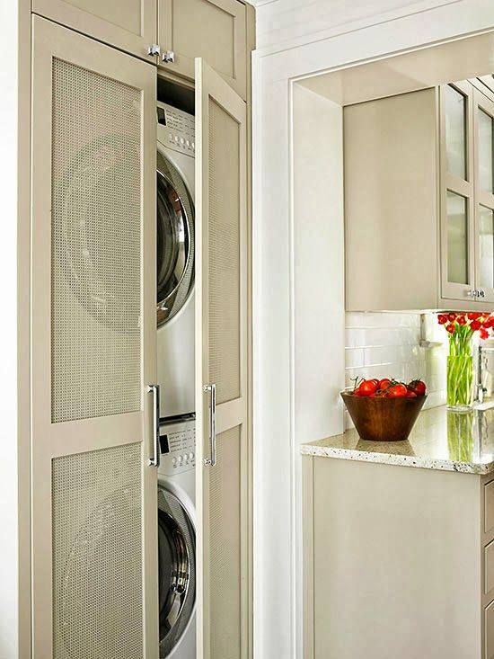 17 best images about utility room ideas on pinterest Storage solutions for small laundry rooms