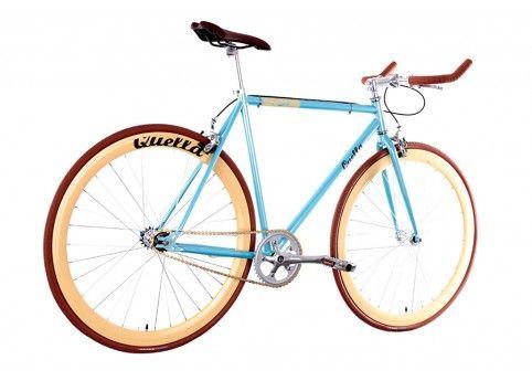 Santa Fixie. Quella Bicycle Varsity Cambridge Limited Edition