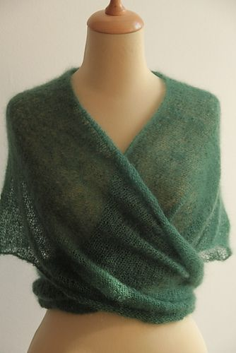 Ravelry: Simple V shawl pattern by Annás                                                                                                                                                                                 More