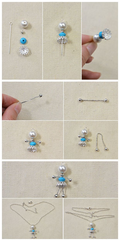 12 Glass Beads Dancing Angel Wings Charms Dangle Beads Pendants DIY Earrings