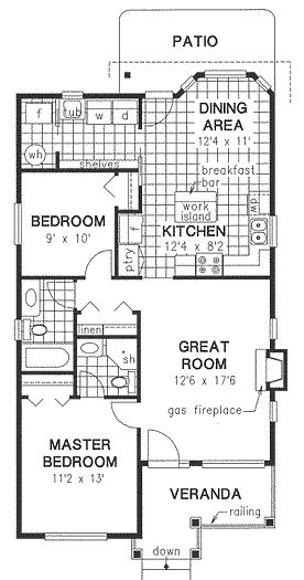 Tiny Home Designs: House Plan No.130244 House Plans By WestHomePlanners.com