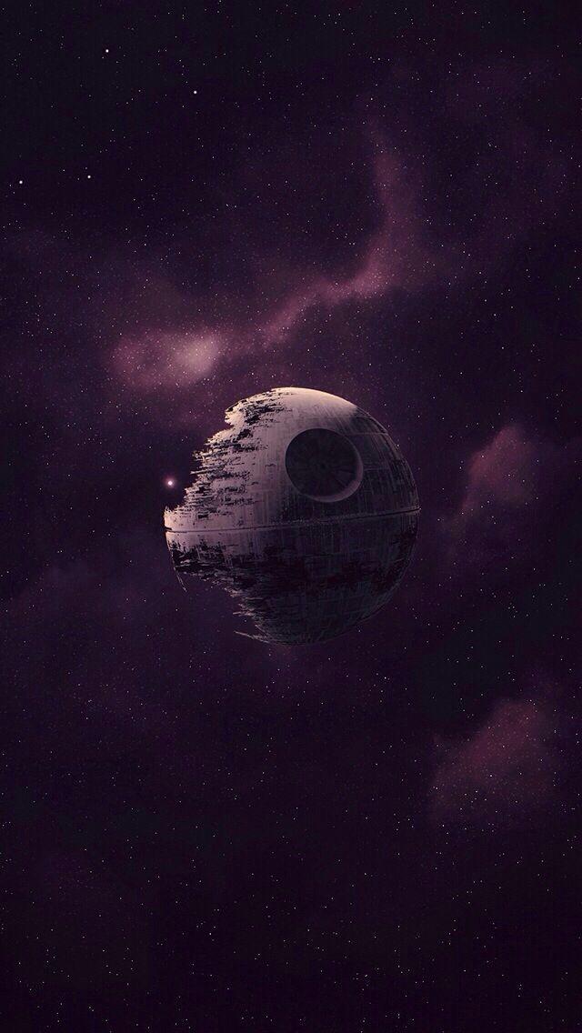 Death Star iPhone 5 wallpaper | Star Wars Phone Wallpaper  #MovieWallpaper #Deat...