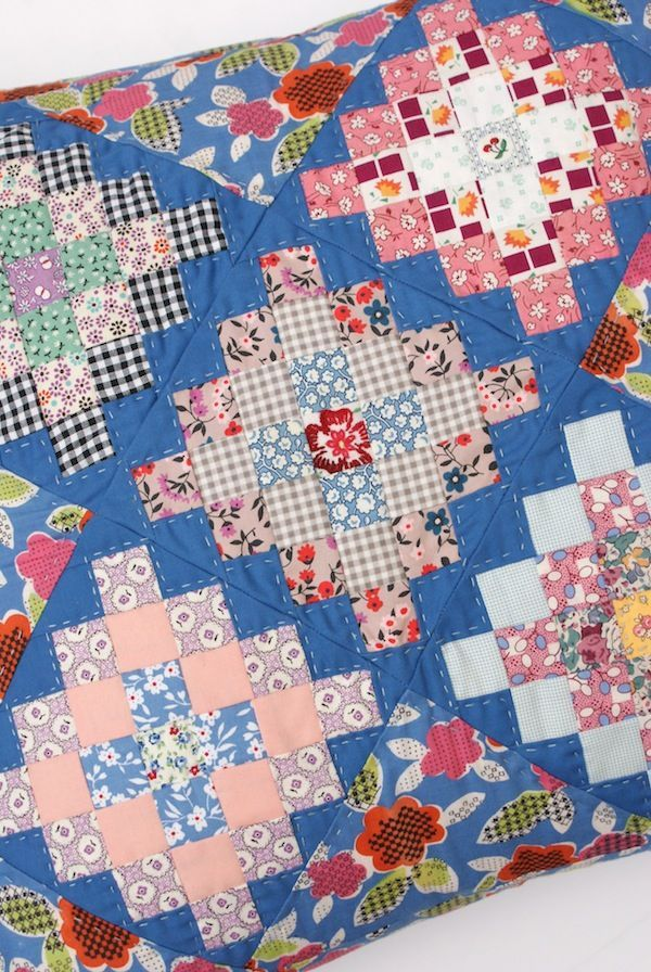 pattern from book Great Granny Squared by Lori Holt