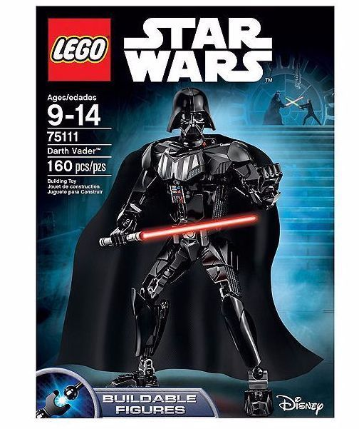 NEW!!! LEGO 75111 Star Wars DARTH VADER Buildable Figure 160pcs | FREE SHIPPING #LEGO