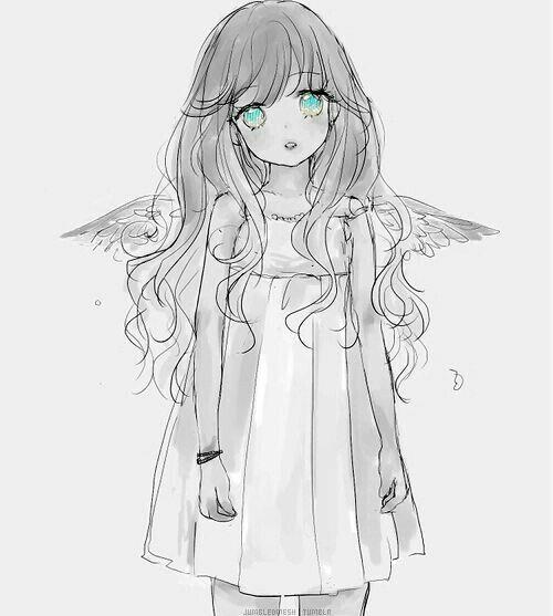 Angel, Maximum Ride, Manga, Narae Lee, cute, Angel, sad, child, girl,