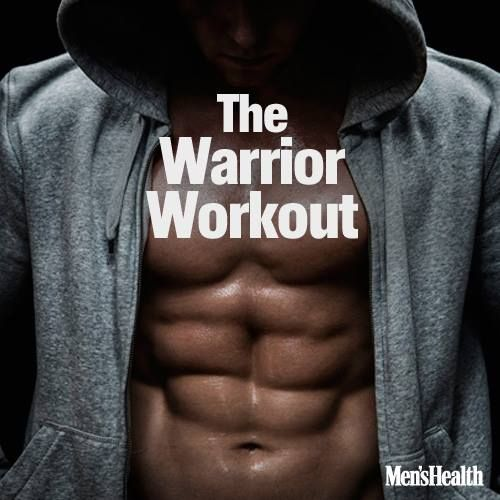 If you like to sweat, you're going to love the Warrior Workout. In this routine, you'll work for 60 seconds, while only resting for 20 seconds. That's a formula that will make your fat cells cry, light your muscles on fire, and send your heart rate soaring. And you only need a pair of light dumbbells to do it. So get ready for a fast-paced workout that will whip you into fighting shape.