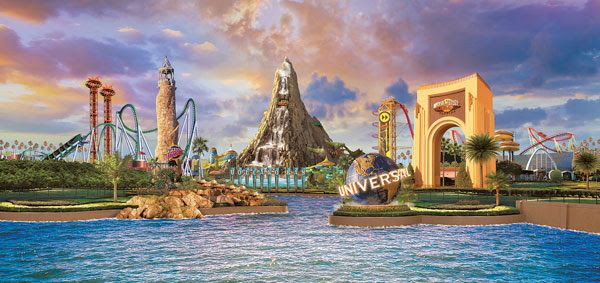 Universal Orlando's SPLASH, STAY AND PLAY Vacation Package for 2017