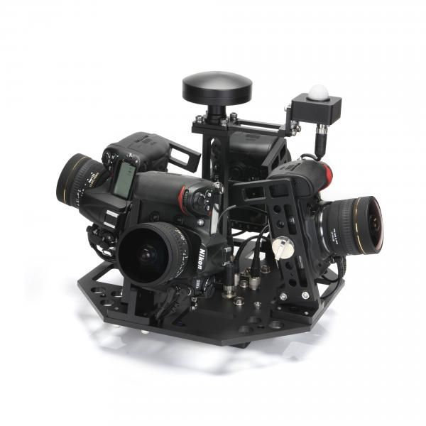 360 degrees rig for Nikon DSLR camera fromGSMsolutions (from Photokina)