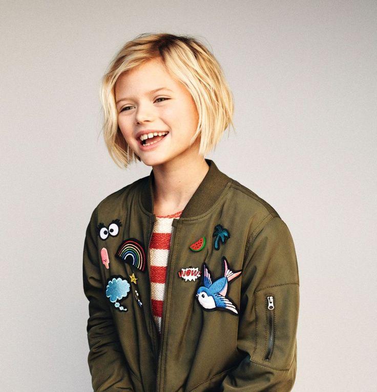 Children's haircut for girls: short, bob, shoulder length or longer