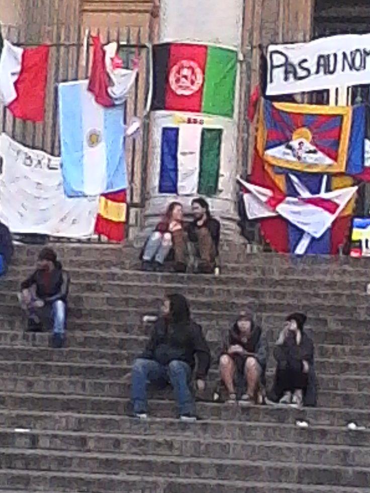 Bir Tawil Flag - Brussel #peaceforBelgium  https://www.facebook.com/biraltawill