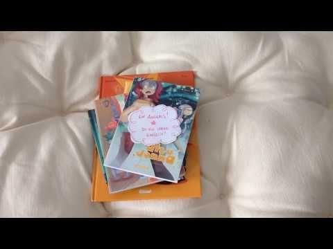 Avec la sortie de «30 ans, 2 chats» je me rends compte que je commence à avoir une belle collection de livres que j'ai dessiné ^_^ 9 exactement (ou 15 si je compte les traductions !!) Voilà une petite vidéo pour vous montrer tout ça 🙂 Je vous rappelle que la BD «30 ans, 2… Lire la suite Ma p'tite collection de livres !