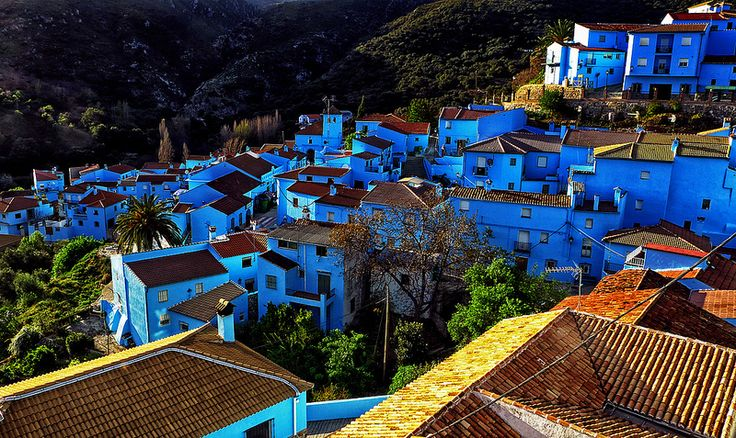 Smurf Town in Juzcar Spain | When On Earth - For People Who Love ...
