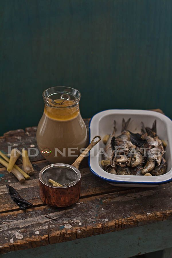 Kuah Ikan Pindang (Fish Brine Stock) for Balinese food such as Rujak Kuah Pindang and Bulung (Seaweed) Kuah Pindang