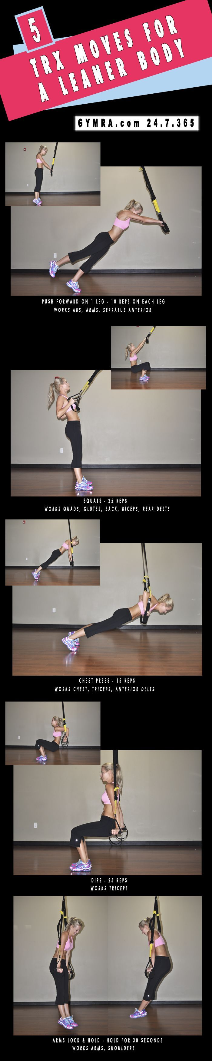 TRX Workout.