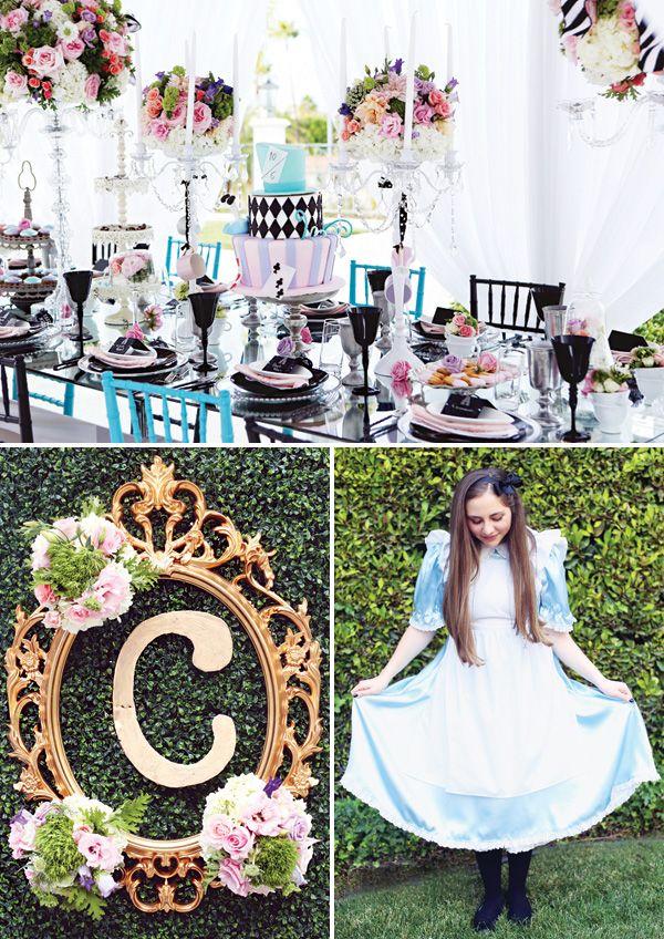 Very Merry 16th Unbirthday {Alice in Wonderland}