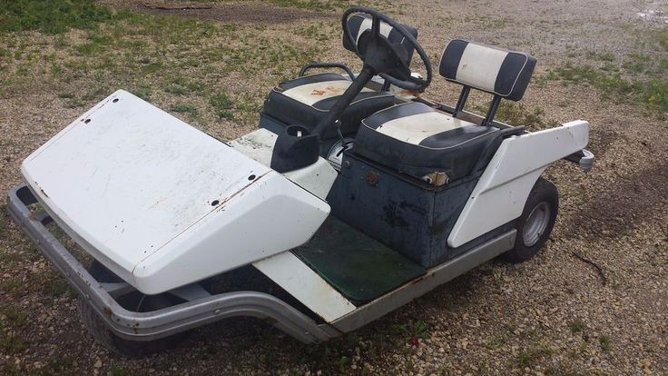 Vintage Cushman Golf Cart Electric to Gas ? REBUILD