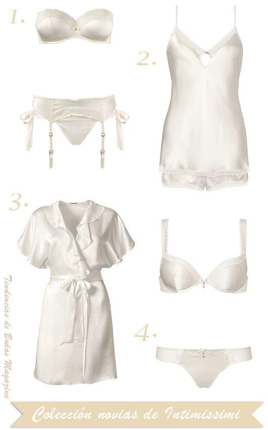 Lencería para novias, nueva colección primavera de Intimissimi