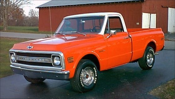 Old 4x4 Trucks For Sale >> 1970 Chevy pickup. Maintenance/restoration of old/vintage vehicles: the material for new cogs ...
