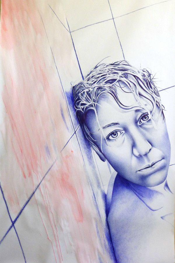 DAPHNE TER WEE - Big drawings