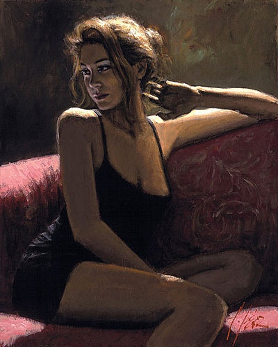 Buy by Fabian Perez Original paintings & Limited Edition Prints from Hepplestone Fine Art