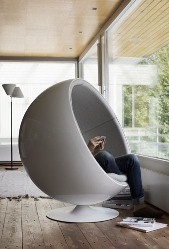 Artek Home by Mikko Ryhänen. The Bubble Chair is one of the many iconic Finnish design stables.