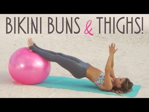 Tone It Up | Booty | Bikini Buns & Thighs! | (13 mins)