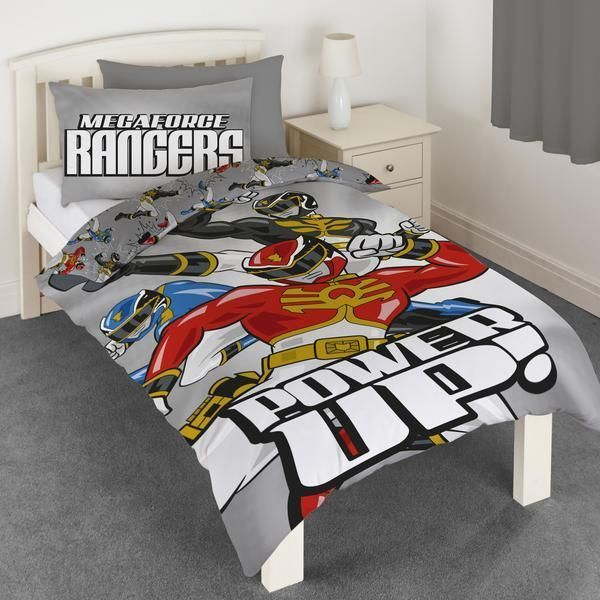 single duvet cover quilt set power rangers children a fun bedroom with a power rangers bedding set