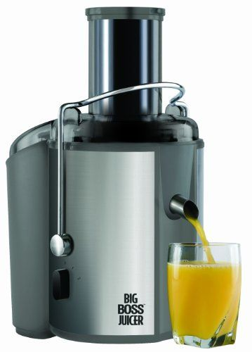 The Big Boss Juicer is a high end stainless steel juicer featuring a durable stainless steel design, stainless steel super fine filter and dishwasher safe parts. Make all natural juices, soups, baby food, sauces and more without unhealthy preservatives. The Big Boss Juicer is the ultimate kitchen assistant. The powerful 700 Watt, 2-Speed stainless steel juicer allows whole fruit comsumption due to the large three inch feeder tube. Easy to clean u...