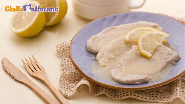 Ricetta Scaloppine al limone - Le Ricette di GialloZafferano.it