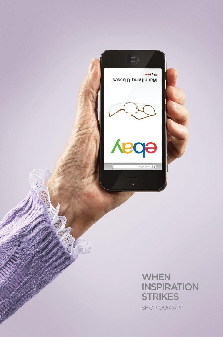 Ebay - When inspiration strikes. Shop our app
