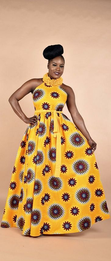 Pamyellow-Ruffle Maxi Dress. Stay Fabulous in this Maxi dress. This dress has been carefully handcrafted to perfection, the neck ruffles is the best part of the dress. African print Maxi dress with chiffon ruffles. Ankara | Dutch wax | Kente | Kitenge | Dashiki | African print dress | African fashion | African women dresses | African prints | Nigerian style | Ghanaian fashion | Senegal fashion | Kenya fashion | Nigerian fashion (affiliate)