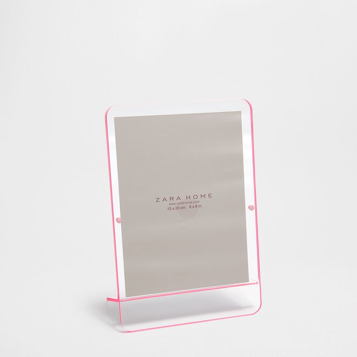 Frame with pink edge - Frames - Decoration | Zara Home