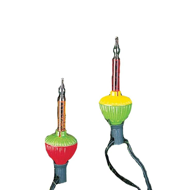 Kurt Adler Bubble Christmas Light Set - Indoor and Outdoor, Multicolor