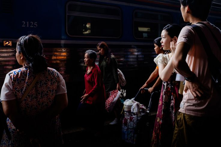 A Bangkok Train Station Never Looked So Film Noir | May 2015, Platform 10 | Credit: Rammy Narula | From Wired.com