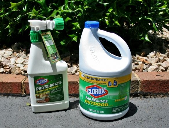 Mold Busters (Or How to Clean Vinyl Siding) - Rappsody in Rooms    Clorox Pro Results Outdoor