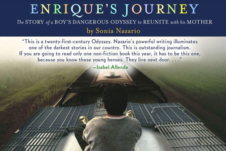 True story of Enrique's Journey from Honduras and across the border...  rated young adolescent (YA) due to graphic descriptions.
