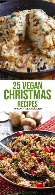 25 Vegan Christmas Recipes