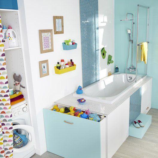 Baignoire rectangulaire L.170x l.70 cm blanc, SENSEA Access confort